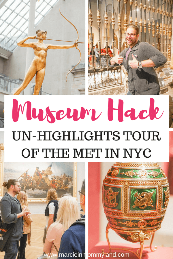 The Met: Un-Highlights Tour of the Metropolitan Museum of Art is the coolest museum tour I've ever done! #museumhack #unhighlightstour #themet #metropolitanmuseumofart #nyc #newyorkcity #nyctour #newyorkcitytour