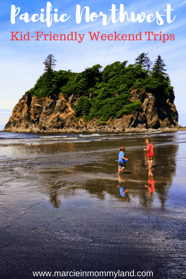 The Pacific Northwest is full of fun kid-friendly weekend trips. See what top family travel bloggers say are their favorite spots to bring their kids. Click to read more or pin to save for later. www.marcieinmommyland.com #familytravel #travelwithkids #pnw #pacificnorthwest #weekendgetaways #washingtonstate #Oregon #Vancouverbc #travelportland