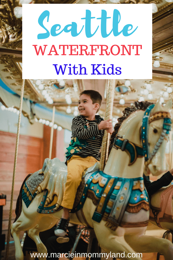 Looking for kid-friendly attractions in Seattle, WA? I've got the top Seattle waterfront attractions for kids, family-friendly restaurants, and where to stay in Seattle with kids. Click to read more or pin to save for later. www.marcieinmommyland.com #seattle #seattlewaterfront #seattlewa #pnw #pacificnorthwest #washingtonstate #seattleattractions #seattlewithkids #familytravel