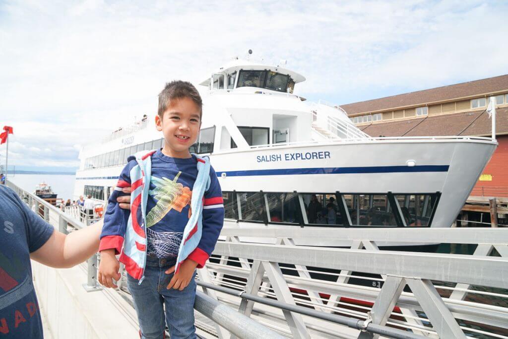 Photo of the Seattle Argosy Cruise ship to Tillicum Village on Blake Island #argosycruises #seattle #blakeisland #tillicumvillage #seattlecruise #seattleboat