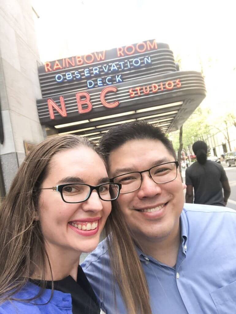 Photo outside NBC Studios in NYC before seeing Late Night with Seth Meyers #sethmeyers #nbcstudios #nyc #rockefellercenter #30rock