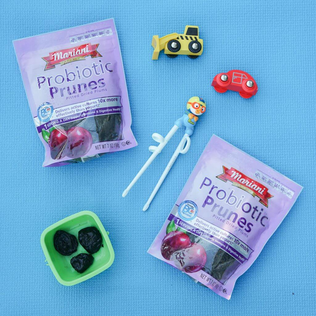 Photo of Mariani Probiotic Prunes, which is a healthy treat for your whole family #marianisuperprunes #prunes #probiotics #healthysnacks
