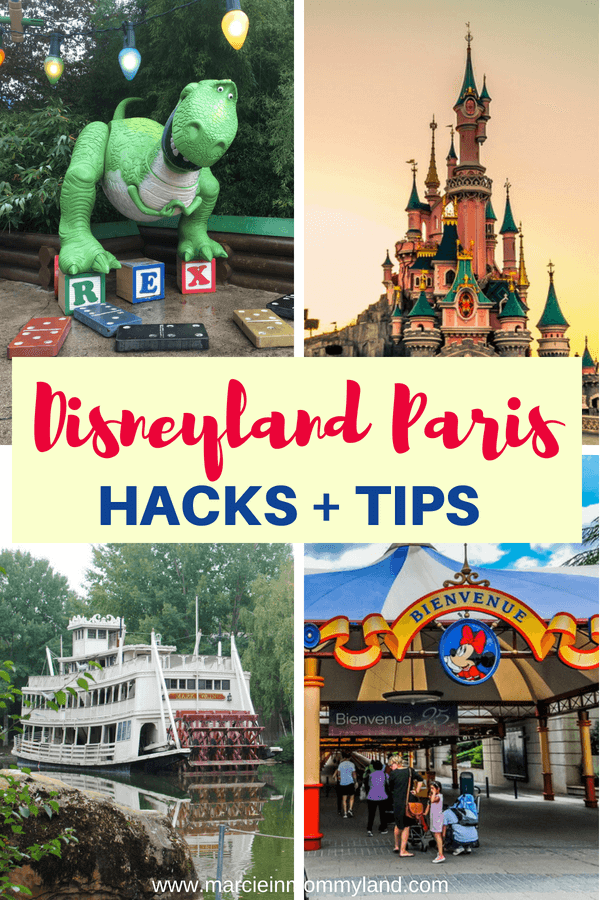 Heading to Disneyland Paris with your family? Check out these Disneyland Paris hacks and tips for first timers. Click to read more or pin to save for later. www.marcieinmommyland.com #disney #disneylandparis #DLP #disneytips #paris #pariswithkids