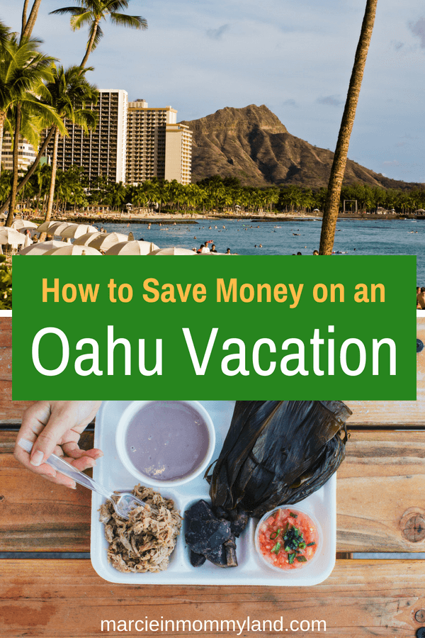 Think a trip to Oahu is out of your budget? Find out how to save money on an Oahu vacation. Tips include discount car rentals, airfare deals, hotel discounts, and ways to save money on top Oahu attractions and activities. Click to read more or pin to save for later. www.marcieinmommyland.com #familytravel #hawaiitravel #budgettravel #hawaii #oahu #waikiki #visithawaii