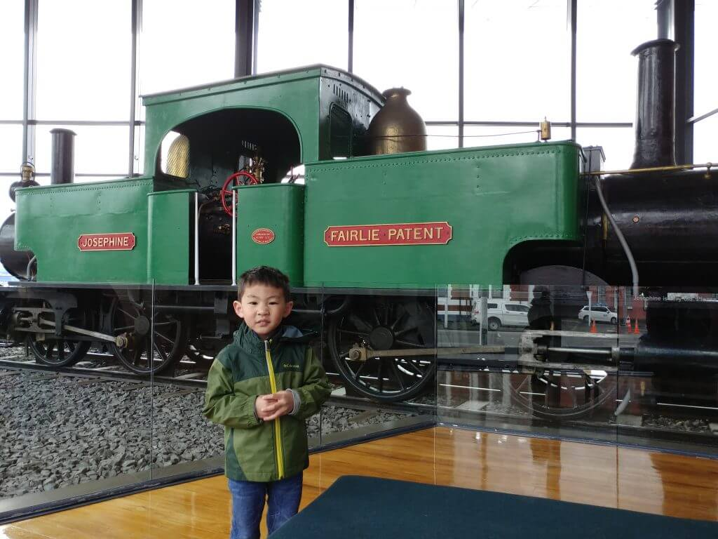 Photo of a boy at Taieri Gorge Railway in New Zealand #newzealand #train #taieri #taierigorge #taierigorgerailway