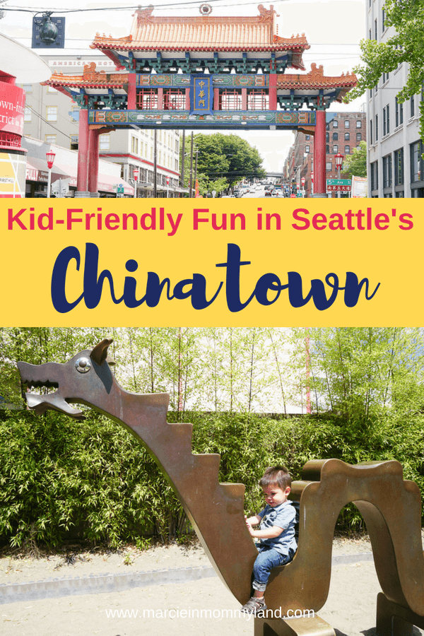 Have you explore Seattle's Chinatown/International District? Find out all the kid-friendly activities and fun thing to do in Seattle International District. Click to read more on pin to save for later. www.marcieinmommyland.com #seattlewa #visitseattle #seattlechinatown #seattleinternationaldistrict #seattleID #seattlewithkids