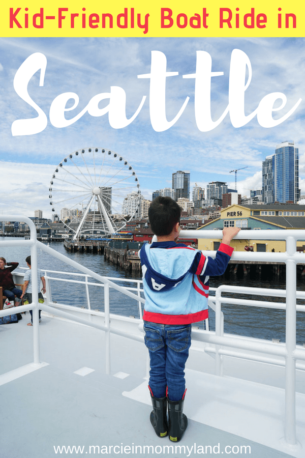 Heading to Seattle, WA with kids? Argosy Cruises is a family-friendly activity in Seattle. Take the boat over to Blake Island for their Tillicum Village Excursion and enjoy Native American dancing, lots of food, and explore the island. Click to read more or pin to save for later. www.marcieinmommyland.com #argosycruises #tillicumvillage #pnw #pacificnorthwest #nativeamerican #seattleboat #boatride
