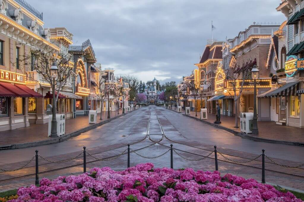 Photo of Main Street USA at Disneyland Resort in California #disneyland #mainstreetusa