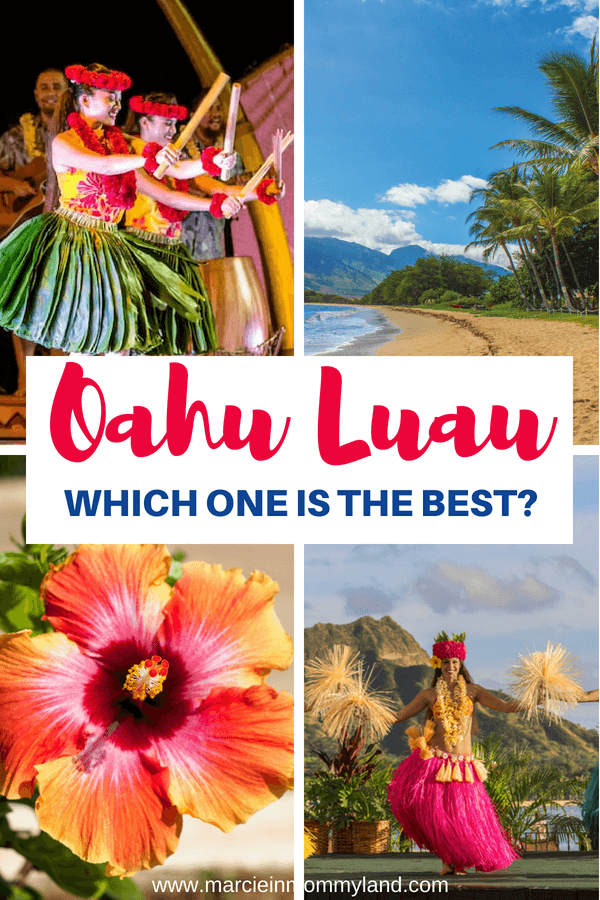 Are you traveling to Oahu and want to know which is the best Oahu luau in Hawaii? Read my comprehesive guide to the best luaus on Oahu. Click to read more or pin to save for later. www.marcieinmommyland.com #oahu #oahuluau #luau #hawaiianluau #waikiki #aulani #disney #honolulu #hawaiiwithkids #familytravel