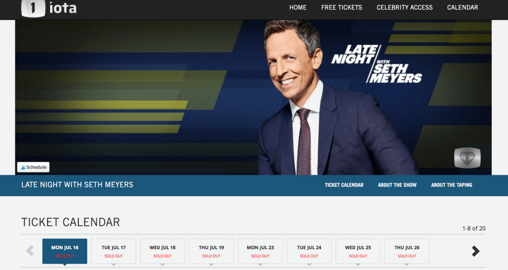 Photo of how to get free tickets to Seth Meyers #nyc #sethmeyers #latenight #latenightwithsethmeyers #freetickets