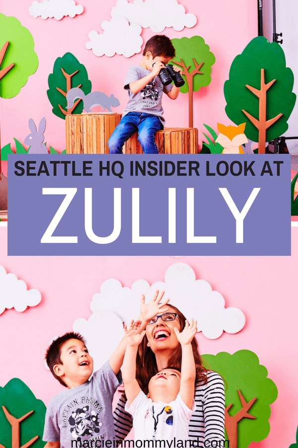 Want to know how you can be a Zulily model? Find out what it's like to be inside the Zulily Headquarters in Seattle, WA. Click to read more or pin to save for later. www.marcieinmommyland.com #seattle #seattlemodel #kidmodel #mommodel #zulily #zulilyseattle #seattlebusiness #photoshoot