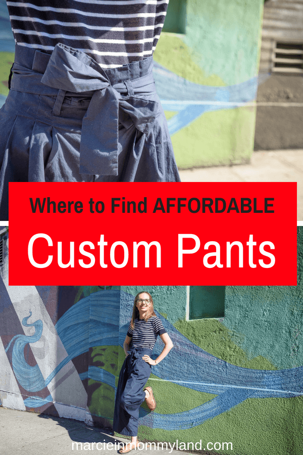 Wondering where to find affordable custom pants and dresses? eShakti specializes in customized clothing for women. Click to read more or pin to save for later. www.marcieinmommyland.com #eshakti #custompant #customclothing #womensfashion #fallfashion #summerfashion