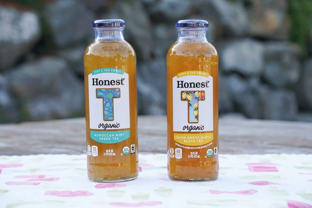 Photo of Honest Tea Moroccan Mint Green Tea and Honest Tea Lemon Grove Maple Black Tea. #HonestKidsRecycle #CollectiveBias #honesttea #fairtrade #organic
