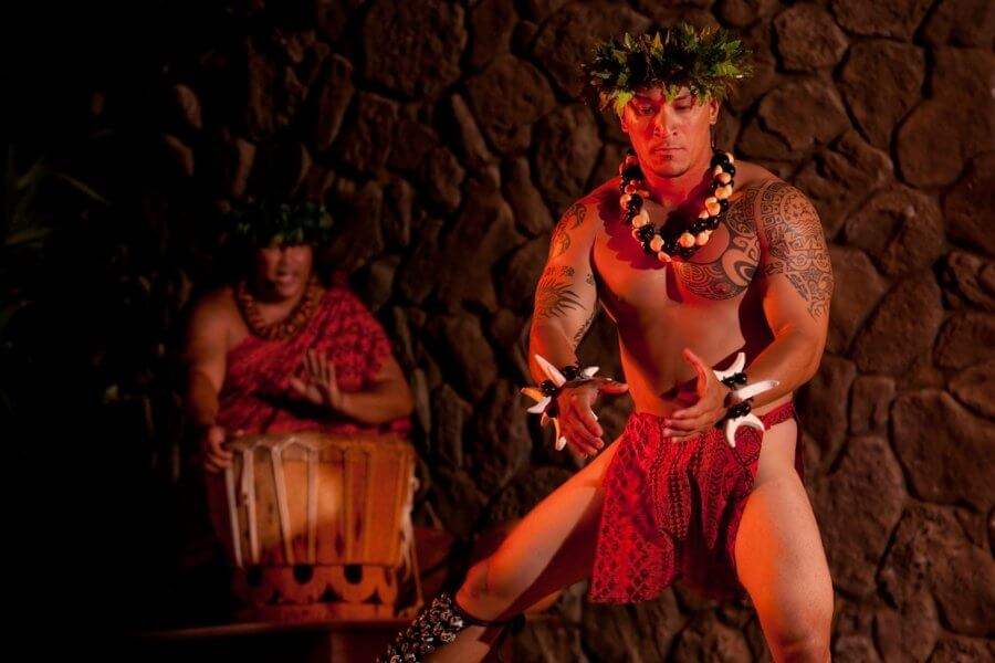 Photo of the Grand Wailea luau (the Grand luau at Honua`ula in Wailea, Maui #wailea #grandwailea #honuaula #mauiluau