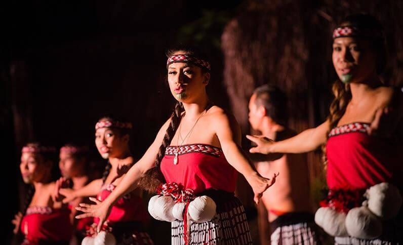 Photo of the Myths of Maui luau at the Royal Lahaina Resort in Lahaina, Maui. It's one of the best Maui luaus and is also has options for vegetarian luau in Maui. #maui #lahaina #mythsofmaui #mythsofmauiluau #lahainaluau #thingstodoinlahaina #luau