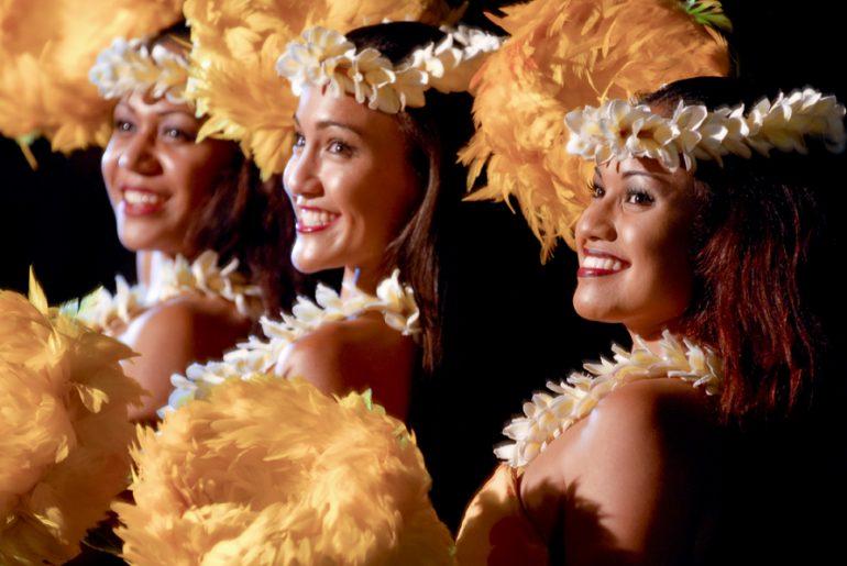 Photo of the Old Lahaina Luau, one of the best luaus in Maui #luau #maui #oldlahainaluau #hawaii #mauiluau