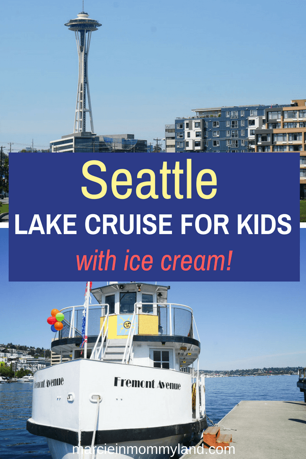 Looking for a kid-friendly boat ride in Seattle? The Sunday Ice Cream Cruise is lots of fun for families wanting to explore Lake Union! Click to read more or pin to save for later. www.marcieinmommyland.com #seattlewa #lakeunion #southlakeunion #seattleboat #seattlecruise #lakeunioncruise #seattleactivites #seattleattractions #seattletourism #visitseattle