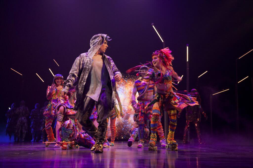 Photo of VOLTA by Cirque du Soleil, the 15th Cirque de Soleil production in Seattle, WA #cirqueduesoleil #VOLTA #SeattleWA