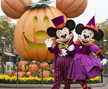 MICKEY MOUSE AND MINNIE MOUSE CELEBRATE HALLOWEEN TIME (ANAHEIM, Calif.) –– During Halloween Time at the Disneyland Resort, guests will encounter beloved characters dressed in fun seasonal costumes, including Mickey Mouse and Minnie Mouse. The Halloween season at the Disneyland Resort, which also features special attractions and entertainment, runs from Sept. 7 through Oct. 31, 2018.