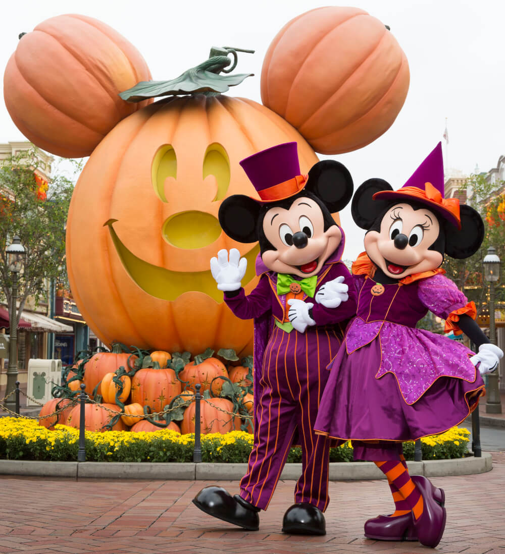 Fashion week Disneyland Halloween pictures for woman