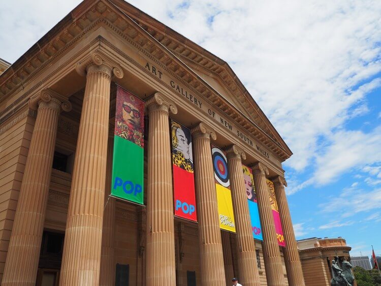 Photo of the Art Gallery of NSW in Sydney, Australia #familytravel #australia #sydney #artgalleryofnsw