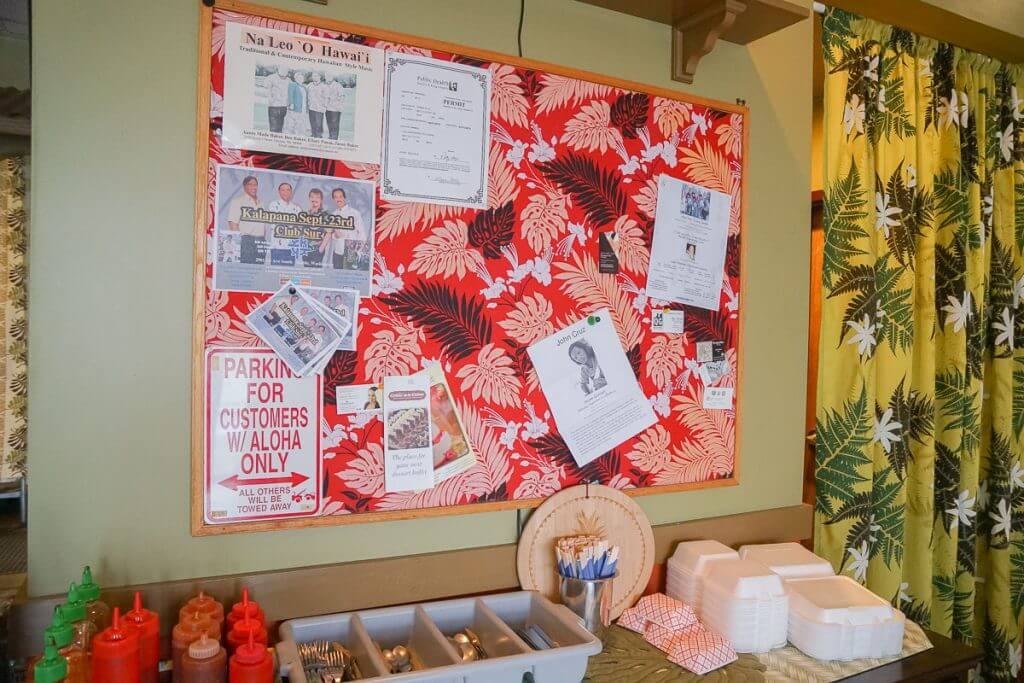 Photo of Saimin Says Hawaiian restaurant in Kent, WA #visitkentwa #saiminsays #hawaiianfood #hawaiianrestaurant