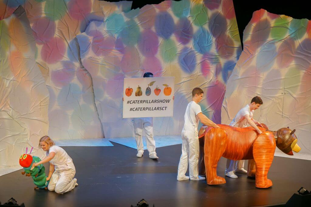 Photo of The Very Hungry Caterpillar Show at Seattle Center #seattlecenter #caterpillarsct #caterpillarshow