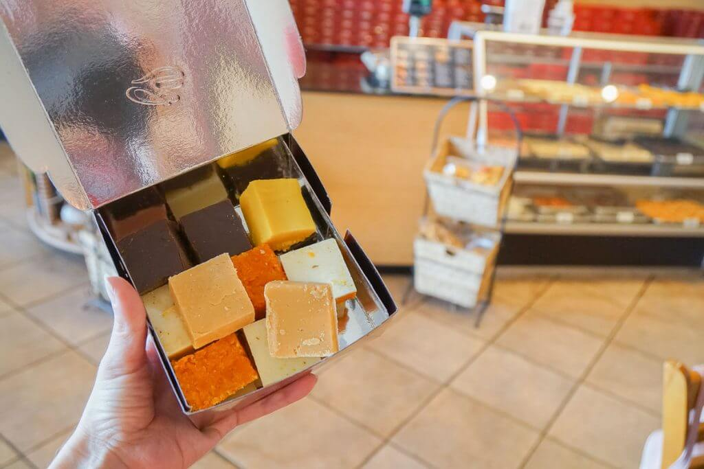 Photo of Burfi, Indian sweets from Punjab Sweets in Kent, WA #visitkentwa #punjabsweets #burfi