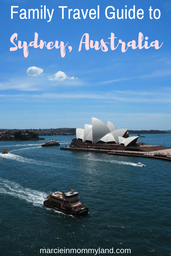Lookiing for a Family travel guide to Sydney, Australia? Find out where to stay in Sydney with kids, top Sydney attractions, where to eat, and more! Click to read more or pin to save for later. www.marcieinmommyland.com #sydney #australia #familytravel #travelwithkids