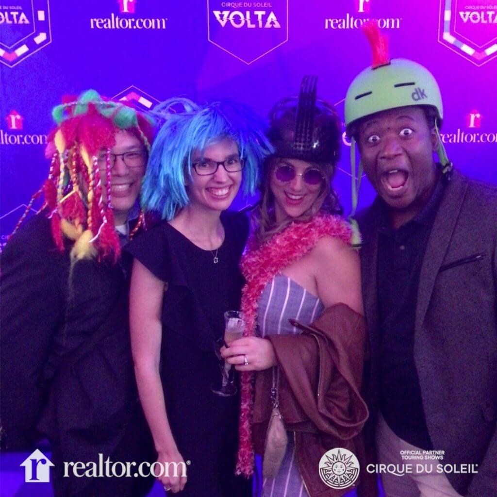 Photo of the Cirque du Soleil VOLTA photobooth at the Big Top at Marymoor Park in Redmond, WA #VOLTA #cirquedusoleil