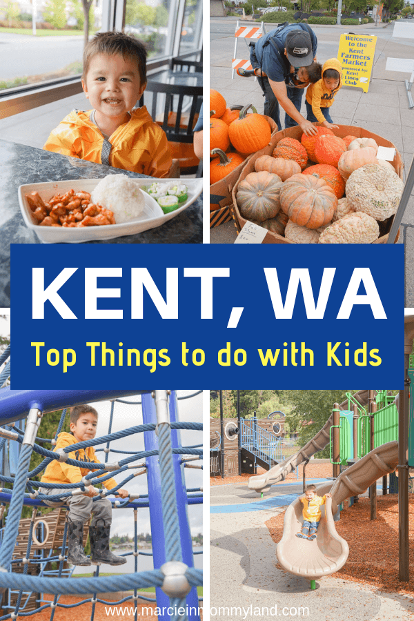 Looking for a fun day trip to Kent, WA near Seattle? Find out my top things to do with kids in Kent, WA including playgrounds, kid-friendly restaurants, and activities.. Click to read more or pin to save for later. www.marcieinmommyland.com #visitkentwa #washingtonstate #pnw #pacificnorthwest