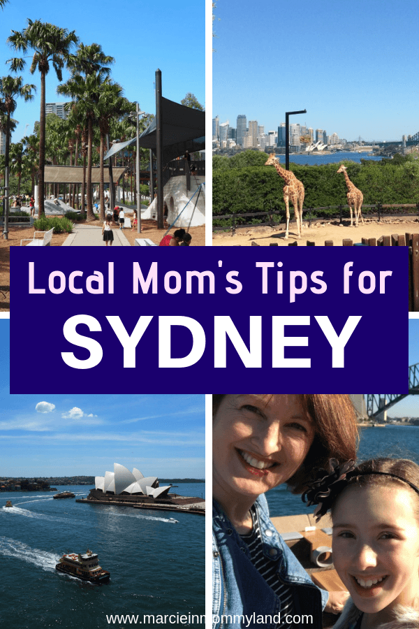 Get a local mom's tips for Sydney with kids, including best family attractions, top family hotels, day trips from Sydney, and more for the ultimate trip to Australia with kids! Click to read more or pin to save for later. www.marcieinmommyland.com #sydney #australia #tarongazoo #sydneyoperahouse #manly
