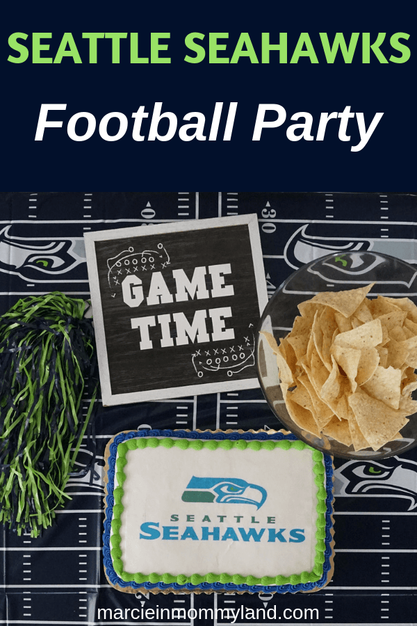 #ad Are you ready for some football? Pick up an officially licensed @NFL cake for the big game this weekend at a bakery near you. Click to read more or pin to save for later. www.marcieinmommyland.com #NFL #NFLCakes #NFLCupcakes #seattleseahawks #seahawks #footballparty @decopac