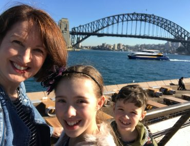 Photo of Kirralee Baker, an Australian Family Travel Blogger who sharing her family guide to Sydney with kids and her top Sydney kids activities. #sydney #australia #familytravel