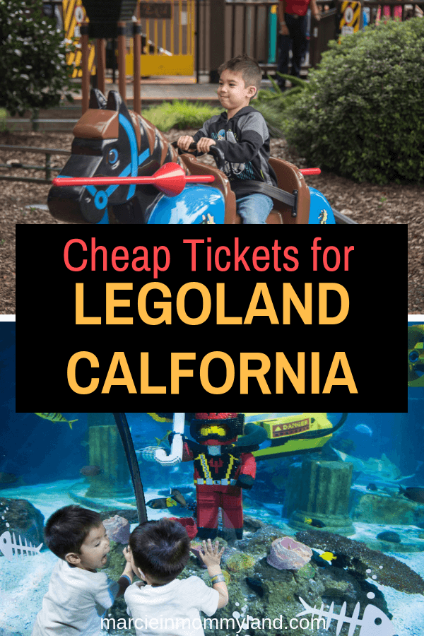 Looking for cheap LEGOLAND tickets? Find out how to score LEGOLAND deals (including free LEGOLAND tickets!) Click to read more or pin to save for later. www.marcieinmommyland.com #legolandca #legoland #sandiego