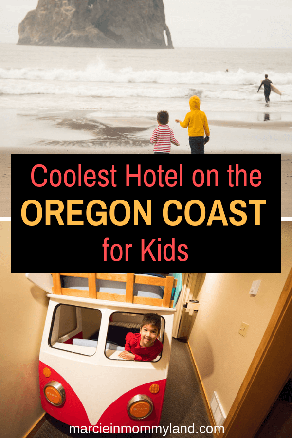 Heading to the Oregon Coast with kids? Find out why you should book a room at the Inn at Cape Kiwanda in Pacific City. Click to read more or pin to save for later. www.marcieinmommyland.com #innatcapekiwanda #oregoncoast #oregon #familytravel