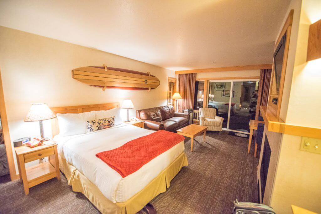 Photo of the O'Neill Surf Suite at the Inn at Cape Kiwanda, a kid-friendly hotel on the Oregon Coast #oregoncoast #kidfriendlyhotel #pnw #oregon #pacificnorthwest