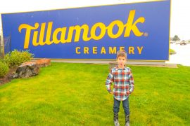 Photo of the Tillamook Creamery sign on the Oregon Coast, home to the Tillamook Cheese Factory #tillamook #oregon #oregoncoast #tillamookcreamery