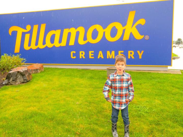 Photo of the Tillamook Creamery sign on the Oregon Coast, home to the Tillamook Cheese Factory #tillamook #oregon #oregoncoast #tillamookcreamery