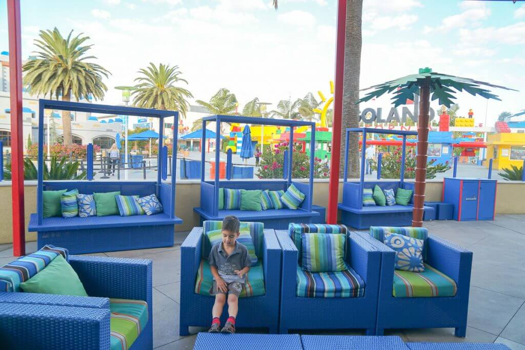 The LEGOLAND Hotel is just steps away from the LEGOLAND California Park Entrance #legoland #legolandcalifornia #legolandhotel #familytravel