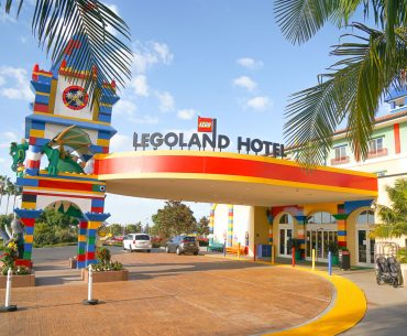 Photo of the LEGOLAND Hotel near San Diego, CA #legoland #legolandcalifornia #legolandhotel