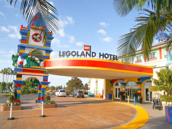 Photo of the LEGOLAND Hotel near San Diego, CA #legoland #legolandcalifornia #legolandhotel