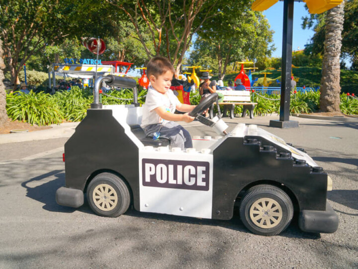 Photo of LEGOLAND with a 2 year old in San Diego, CA #LEGOLANDCA #visitsandiego #familytravel