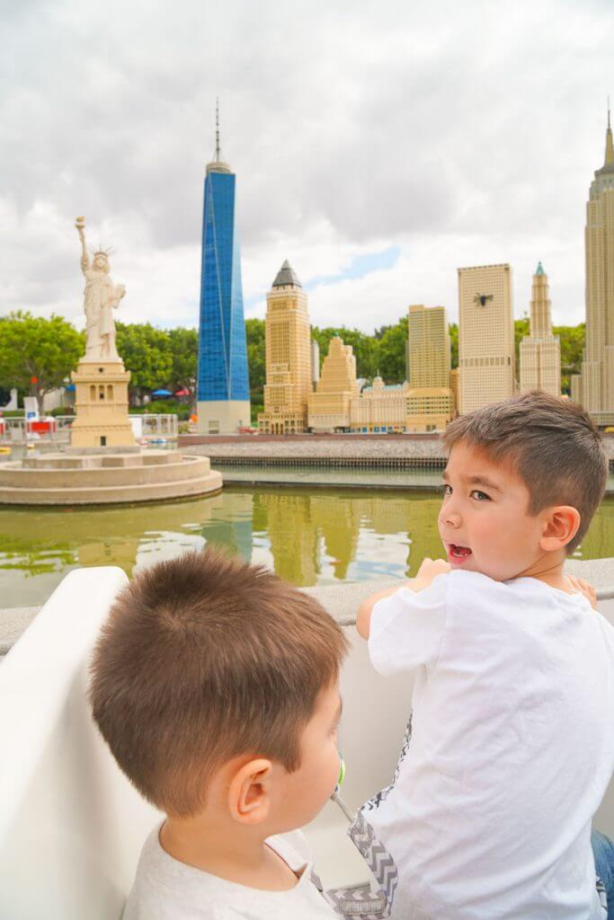 Photo of LEGOLAND for 2 year old Coast Cruise at LEGOLAND California #LEGOLANDCA #LEGO #minilandusa