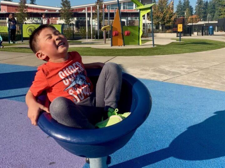 Meadow Crest is our Favorite Inclusive Playground Near Seattle