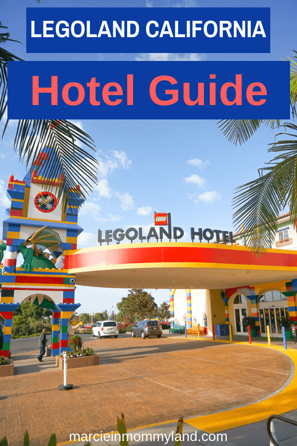 If you're thinking of staying at the LEGOLAND Hotel at LEGOLAND California, you'll want to read my complete hotel guide including a room tour of the Adventure Theme Room. Click to read more or pin to save for later. www.marcieinmommyland.com #legolandhotel #legoland #legolandcalifornia