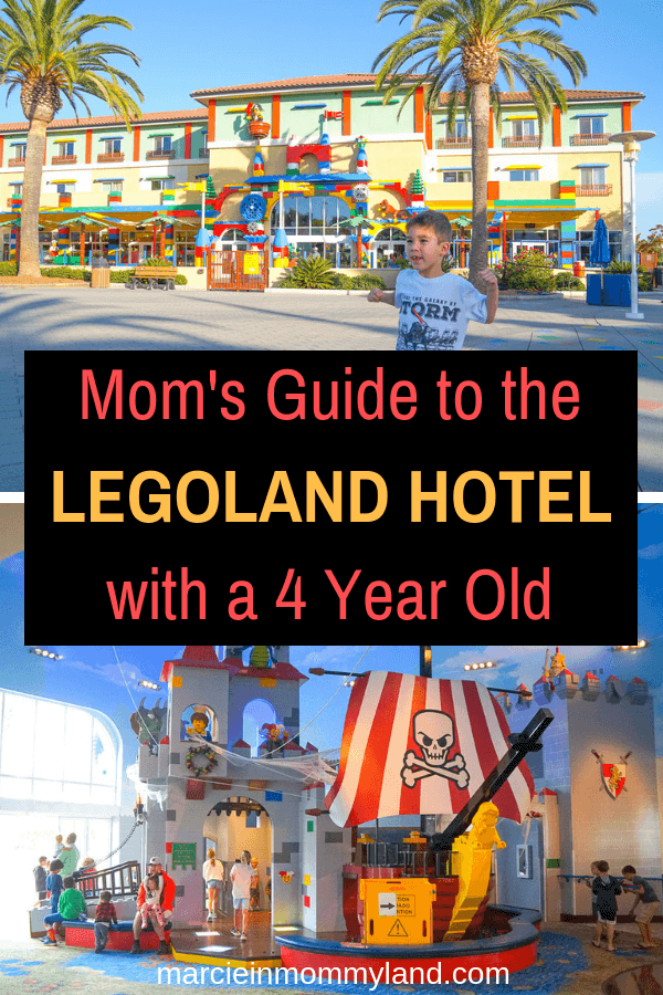 If you are staying at the LEGOLAND Hotel in California with a 4 year old, find out my tips and tricks for maximizing fun with preschoolers! Click to read more or pin to save for later. www.marcieinmommyland.com #legolandhotel #legoland #legolandcalifornia #sandiego #familytravel