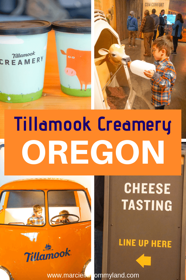 No trip to the Oregon Coast is complete without a stop at the new Tillamook Creamery! It's a perfect family stop with kid-friendly activities, food options, free cheese samples, photos ops and more! Click to read more or pin to save for later. www.marcieinmommyland.com #tillamook #oregon #oregoncoast #thingstodoinoregon #familytravel