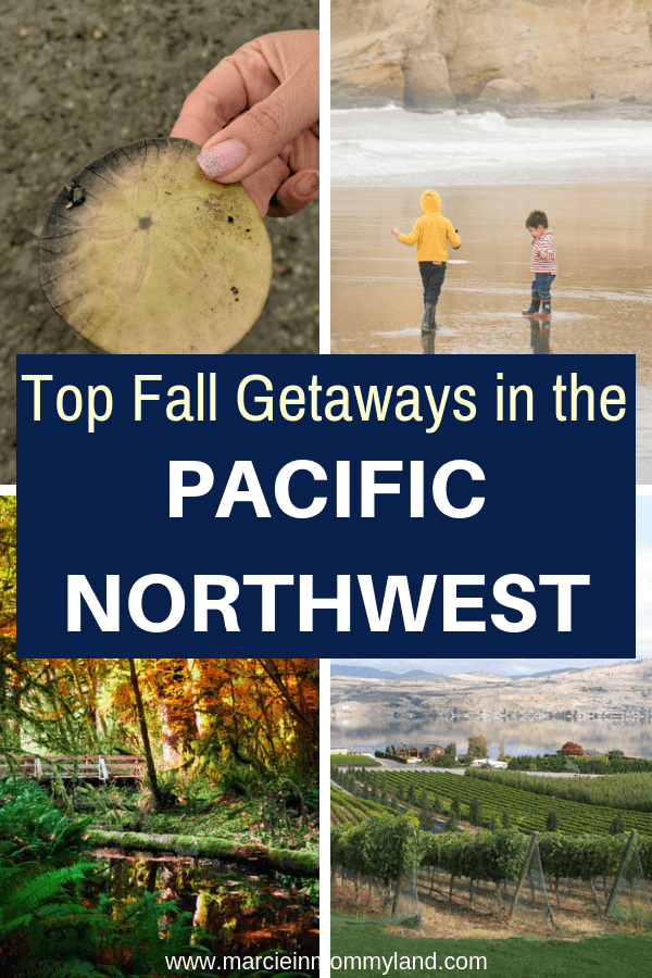 Seattle travel bloggers share their top Pacific Northwest weekend getaways for Fall including Oregon, Washington, and British Columbia. Click to read more or pin to save for later. www.marcieinmommyland.com #pnw #fallgetaways #familytravel #oregon #washington #britishcolumbia