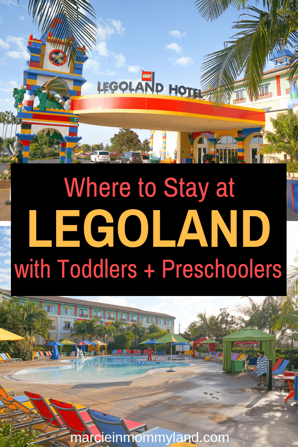 Are you planning a trip to LEGOLAND California with toddlers or preschoolers? Find out why the LEGOLAND Hotel will save your family time and effort during your LEGOLAND vacation! Click to read more or pin to save for later. www.marcieinmommyland.com #legoland #legolandcalifornia #sandiego #familytravel #legolandhotel